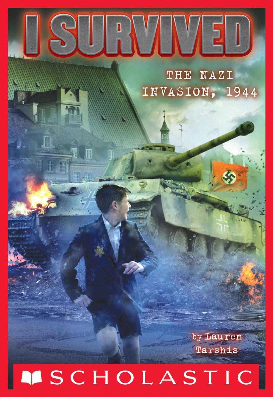 I Survived the Nazi Invasion 1944 Book Cover