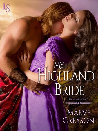 Virtual Book Tour!  MY HIGHLAND BRIDE by Maeve Greyson