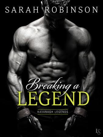 Breaking the Legend by Sarah Robinson Virtual Book Tour