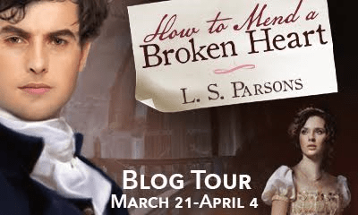 How to Mend a Broken Heart by L.S. Parsons BLOG TOUR!