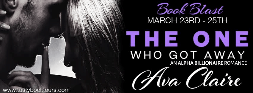 Book Blast! THE ONE WHO GOT AWAY by Ava Claire