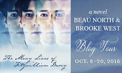 The Many Lives of Fitzwilliam Darcy by Beau North & Brooke West