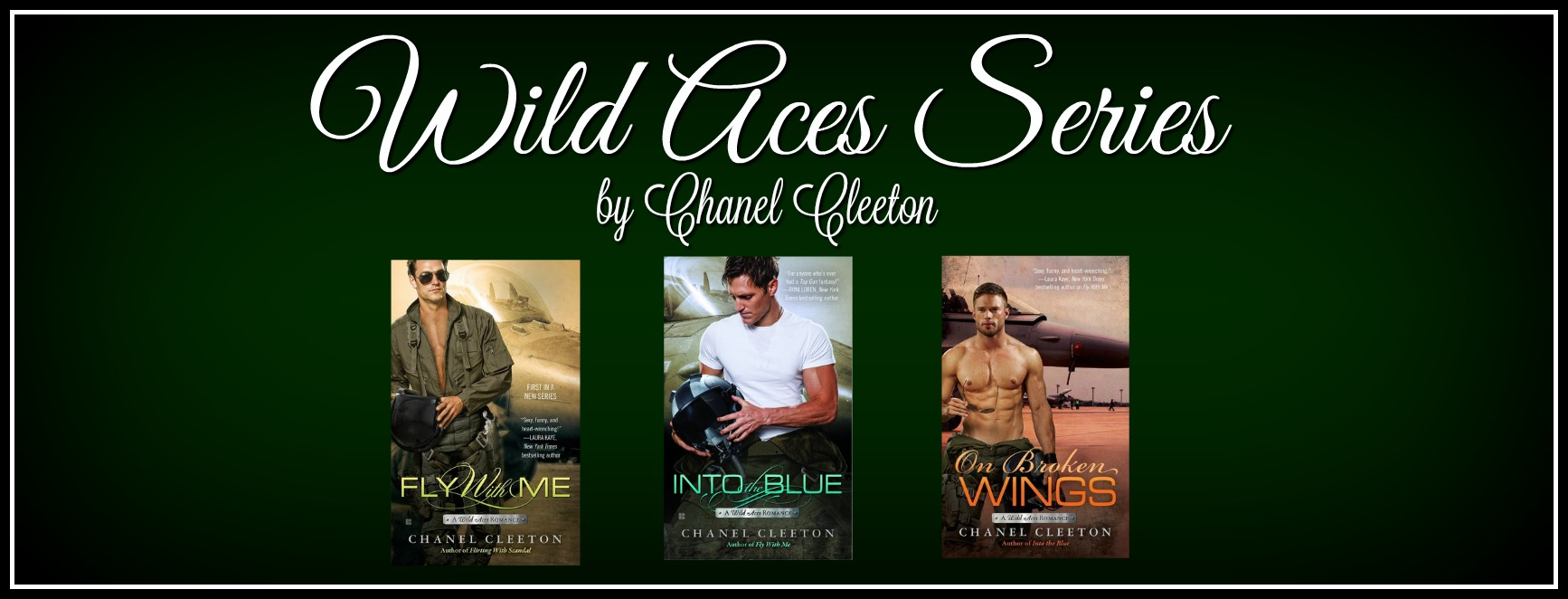 BOOK CRUSH & GIVEAWAY!! Wild Aces Series by Chanel Cleeton!