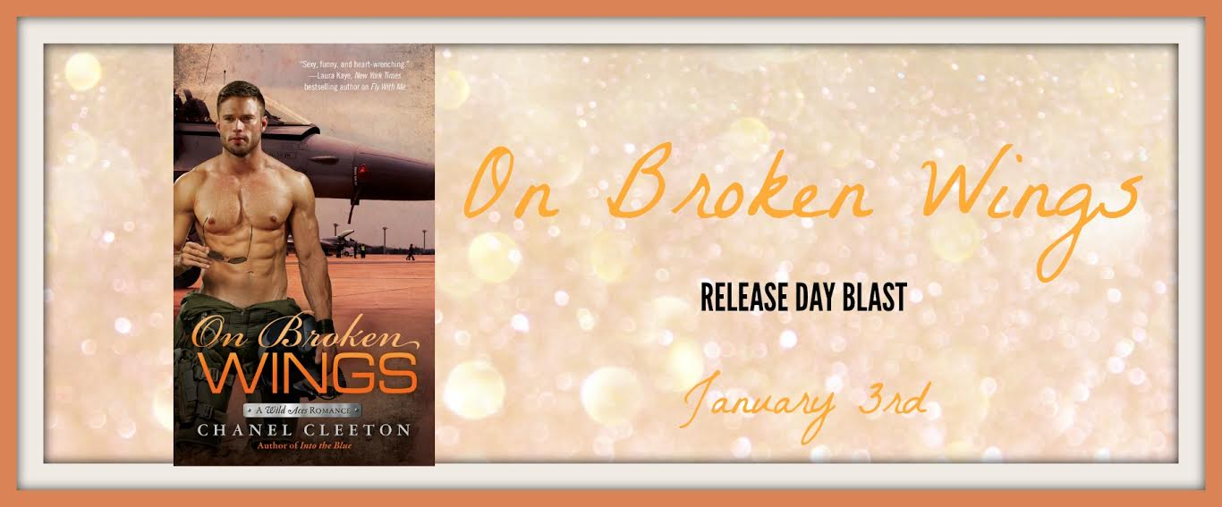 On Broken Wings by Chanel Cleeton is FINALLY HERE!!