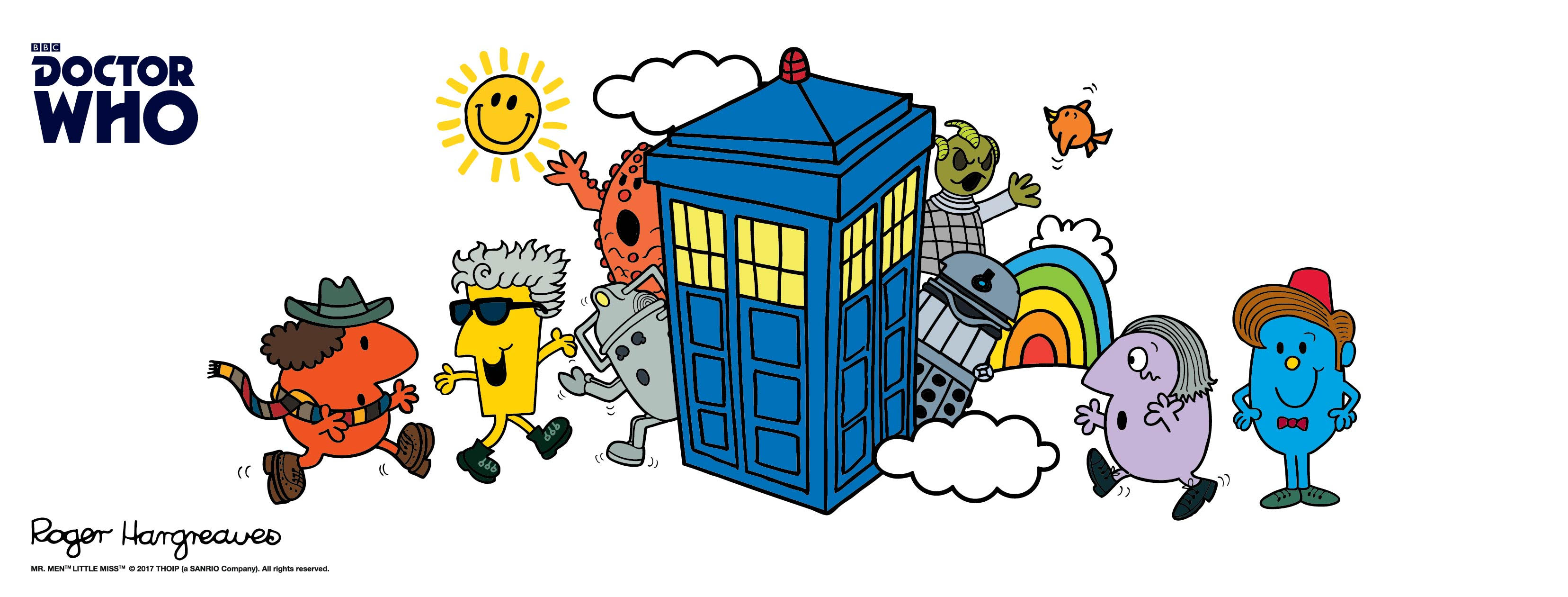Mr. Men and Little Miss books featuring our favorite Doctor by Roger Hargreaves