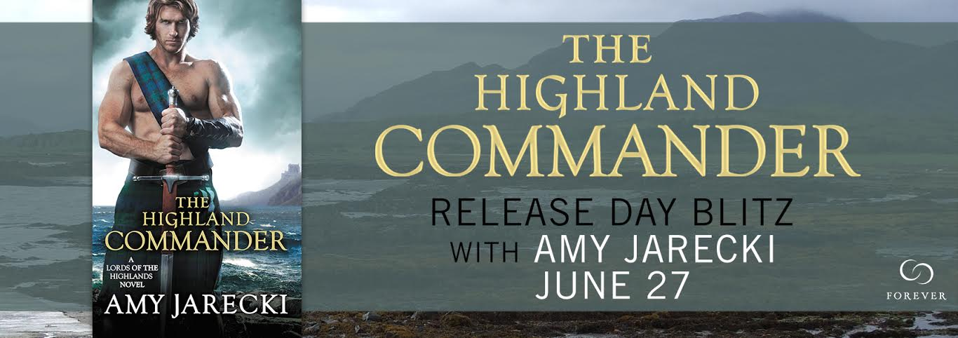 THE HIGHLAND COMMANDER  by: Amy Jarecki