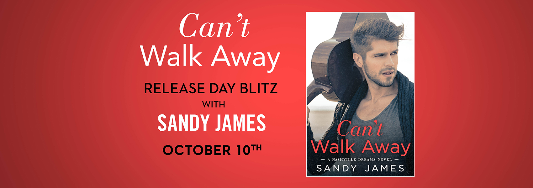 CAN'T WALK AWAY by Sandy James