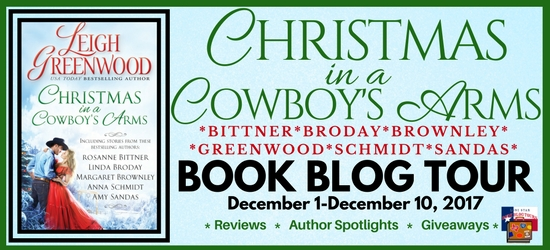 Christmas in a Cowboy's Arm by Leigh Greenwood