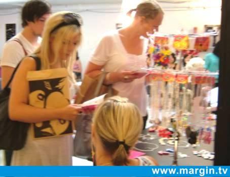 MARGIN LONDON AUGUST 2007 + PUNKY PINS