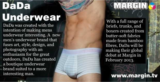 DaDa Underwear at Margin London FEB 2013