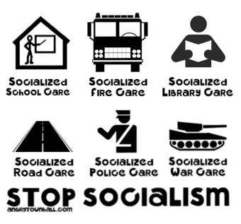 Marginal Notes: Stop Socialism. Say No to Socialist Fire