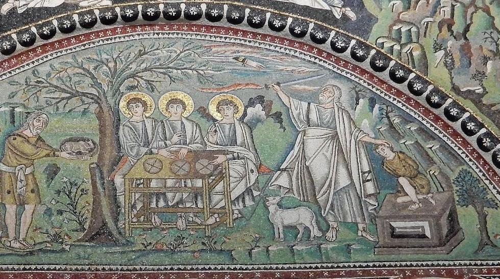 Abraham and Isaac, Rahab, James 2