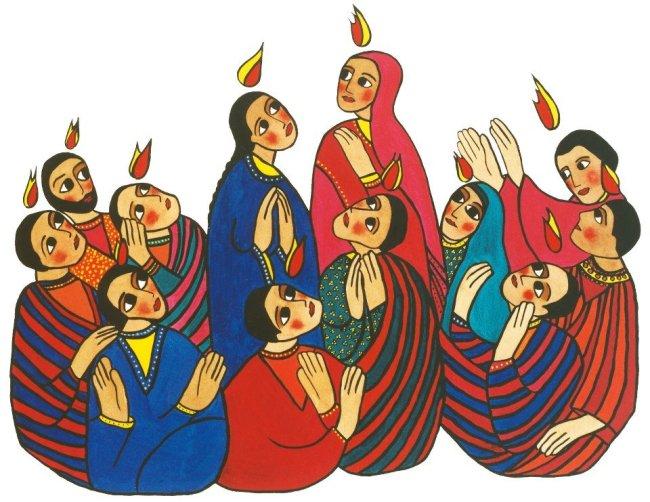 Pentecost, Holy Spirit, Acts 2