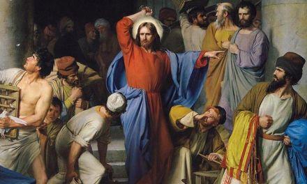 Jesus Clears the Temple – John 2:13-23