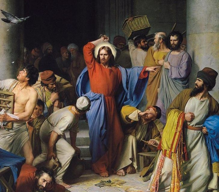 Jesus Clears the Temple – John 2:13-23