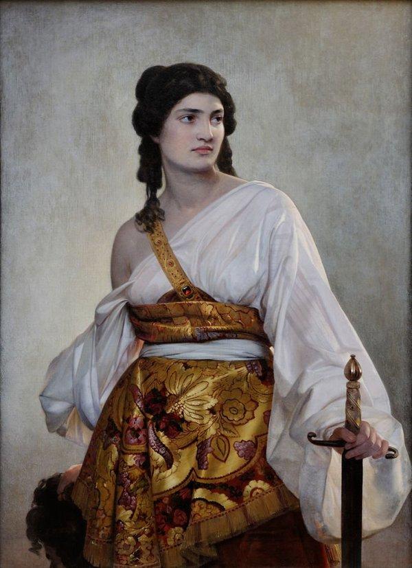 Judith Apocrypha Holofernes Thecla Catherine of Alexandria