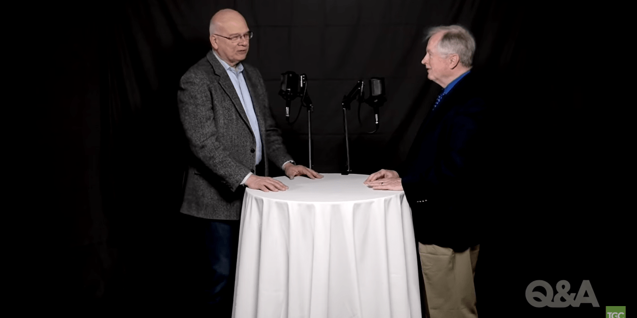 "Don Carson and Tim Keller on ""I Do Not Permit a Woman to Teach"""