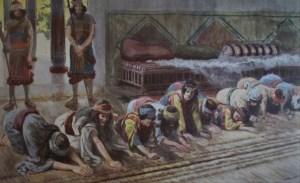 David's ten concubine 2 Samuel 16, Absalom