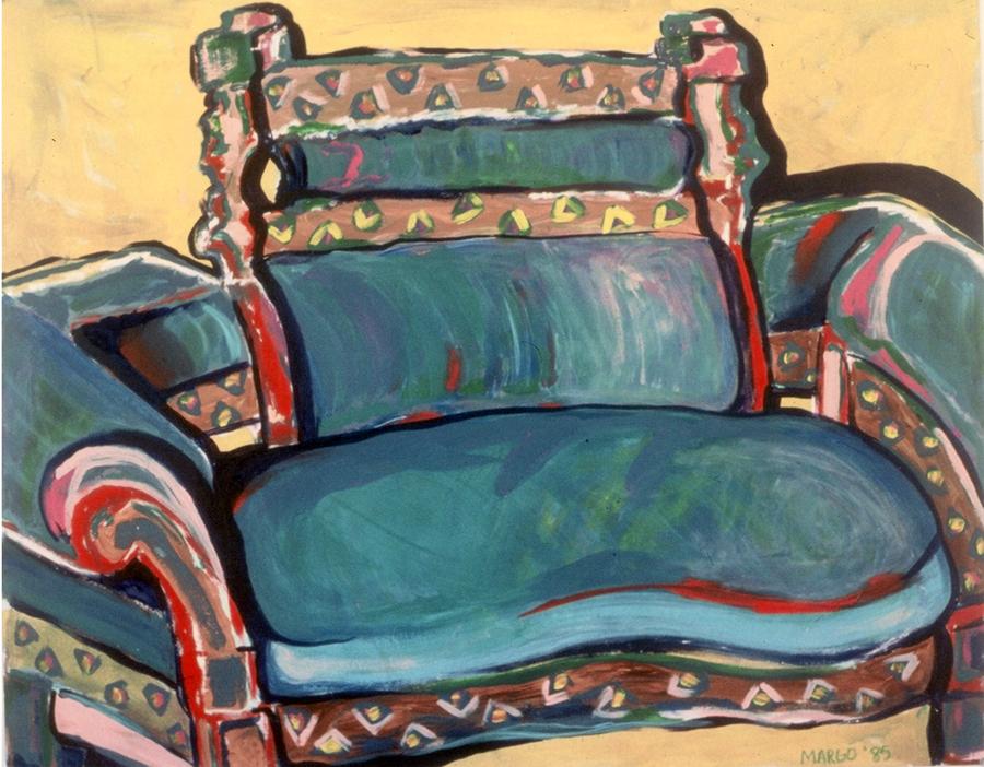 Blue Sofa, 1985
