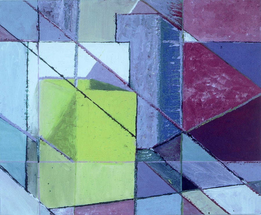 Still Life of Boxes, 1983