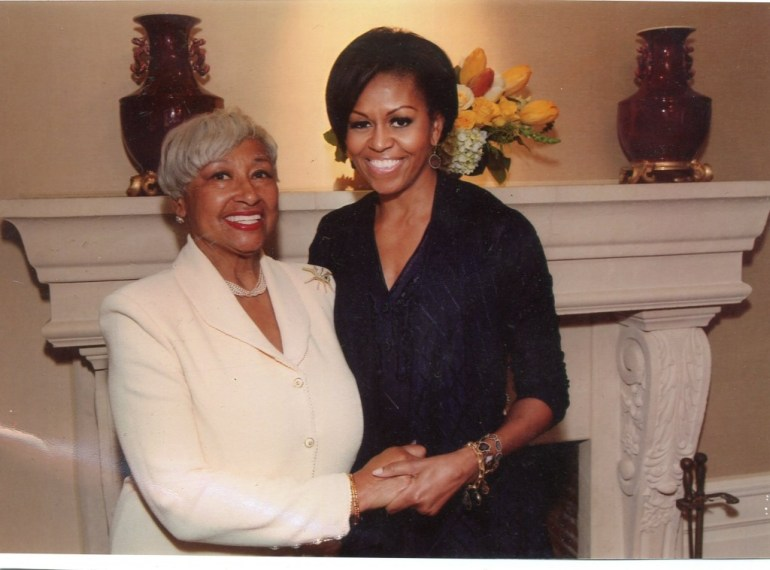 Michelle Obama & Margo Bouchet