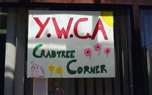Crabtree Corner sign
