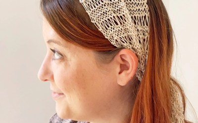 Bad Hair Day Head Scarf Knitting Pattern