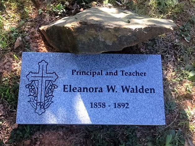 figure 31-eleanora walden gravestone