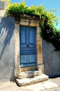 """""""Blue Door in Provence"""" Margo Millure (www.margomillurephotography.com)"""