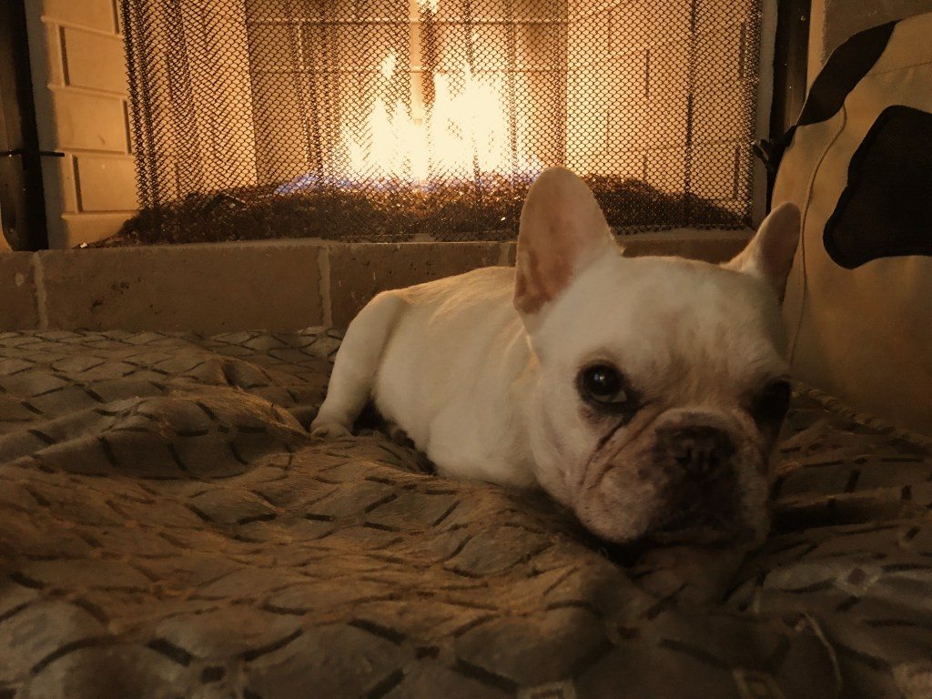 Pearl warming at the fire