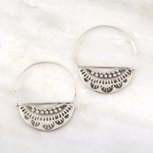 Asmi Fan Blade Earrings Sarah Deangelo