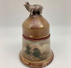 Terracotta Sheep Jar by Mary Briggs