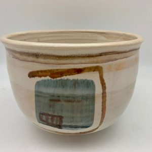 Porcelain Design Bowl by Margo Brown