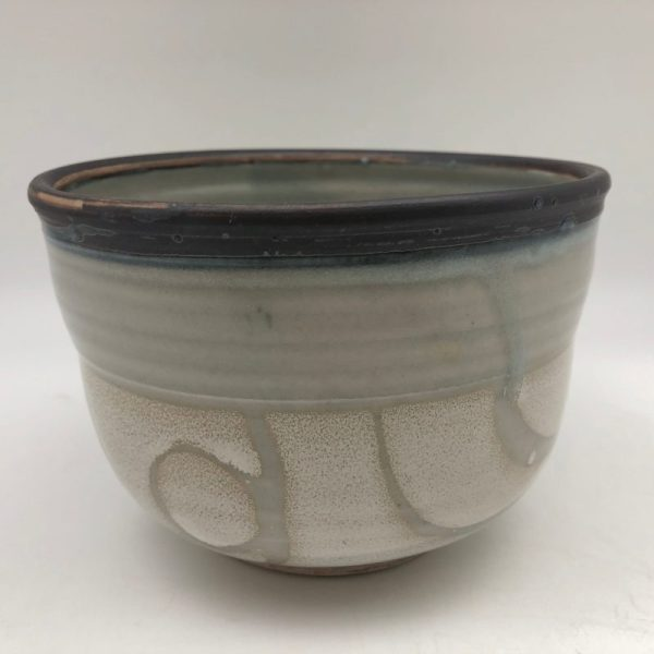 Two-tone Celadon Bowl by Margo Brown