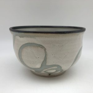 Celadon and White Bowl by Margo Brown