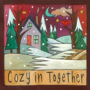 """It's Cozy Time 6"""" Plaque by Sincerely Sticks"""