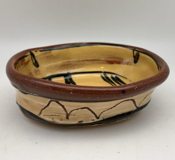 Yellow Terracotta Bowl by Victoria Christen