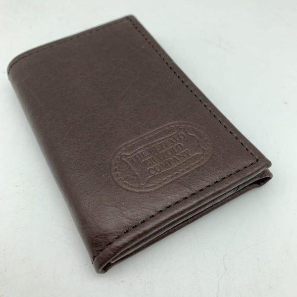 Buffalo Leather Three Fold Wallet by Buffalo Billfold Company
