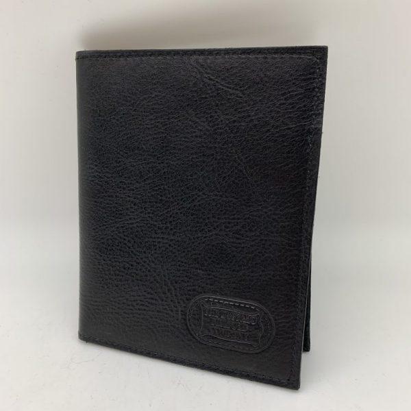 Buffalo Leather Passport Wallet - Black by Buffalo Billfold Company