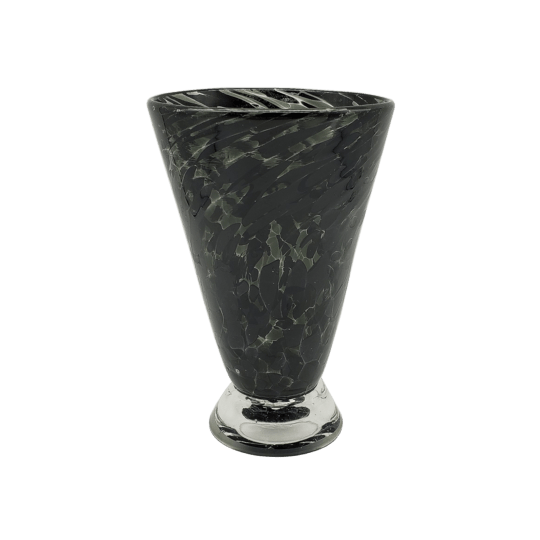 Speckle Cup - Ebony Kingston Glass Studio