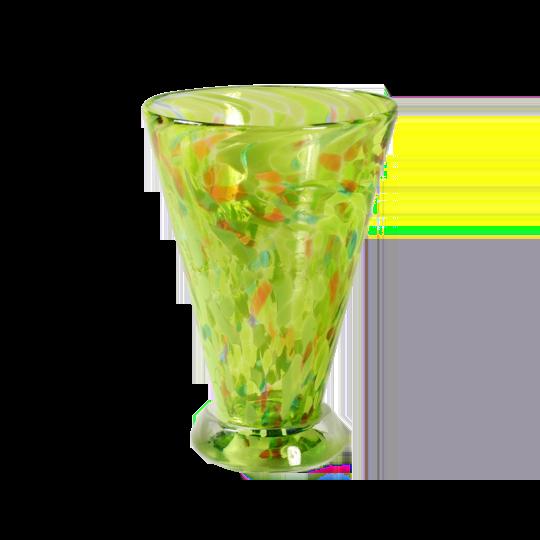 Speckle Cup - Green Kingston Glass Studio