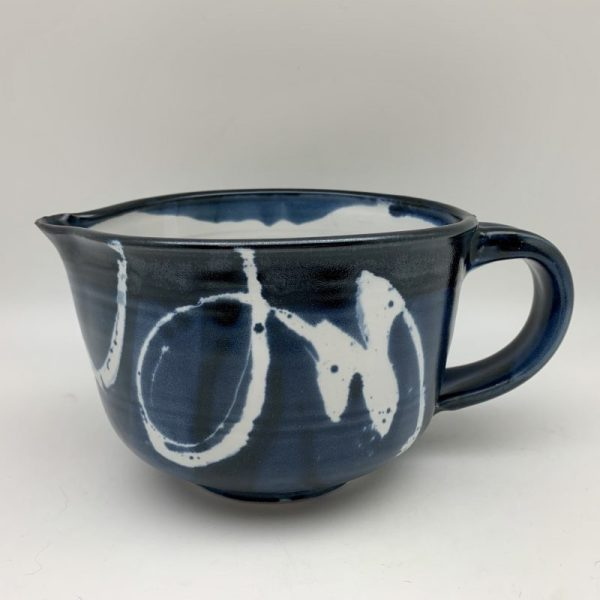 Blue and White Porcelain Pitcher by Margo Brown