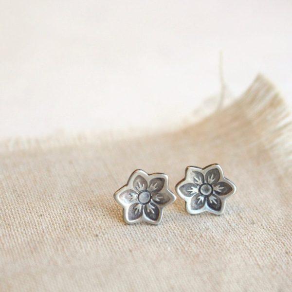 Moonflower Post Earrings Sarah Deangelo