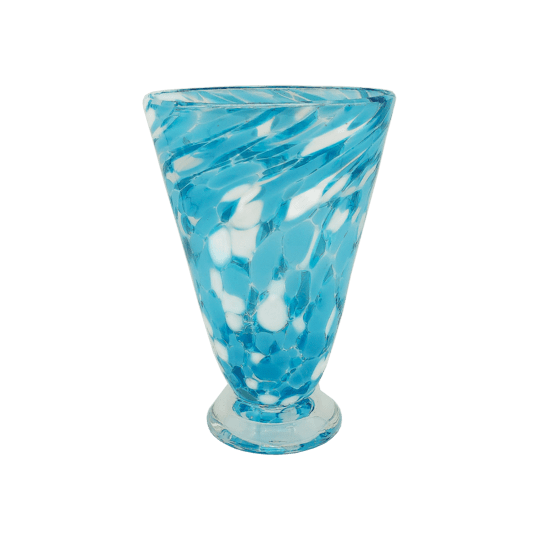 Speckle Cup - Sky Blue Kingston Glass Studio