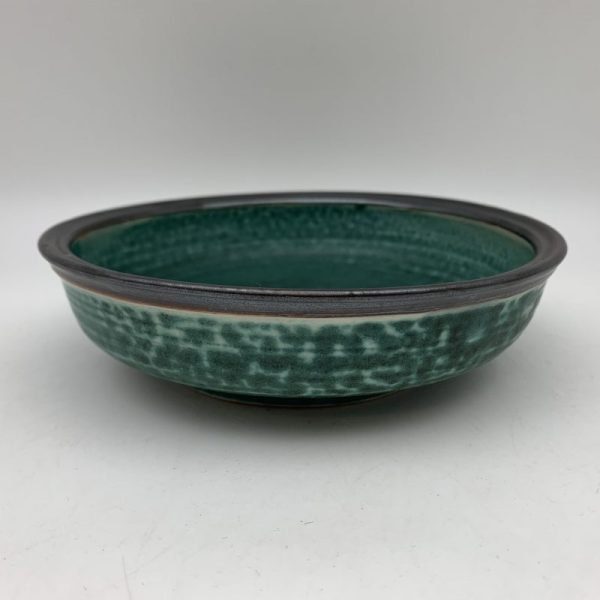 Green Porcelain Bowl by Margo Brown - 2258