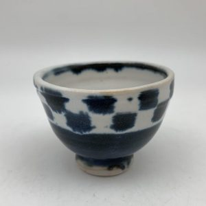 Tiny Checkered Bowl by Margo Brown - 2287