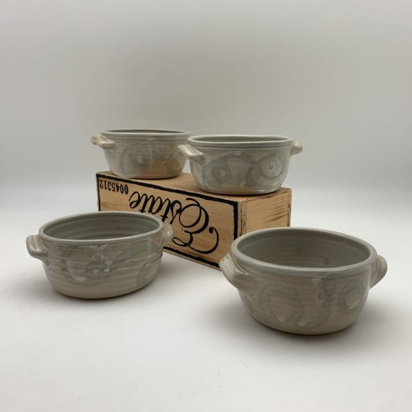 String-Pattern Soup Bowl Set of 4 by Margo Brown - 2212