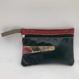 Mini Stash Bag by Traci Jo Designs - Navy/Floral
