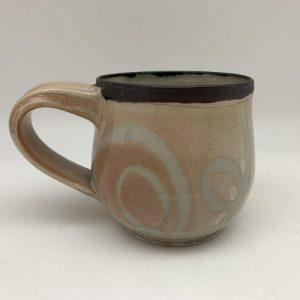 Rimmed String-Design Mug by Margo Brown - 2386