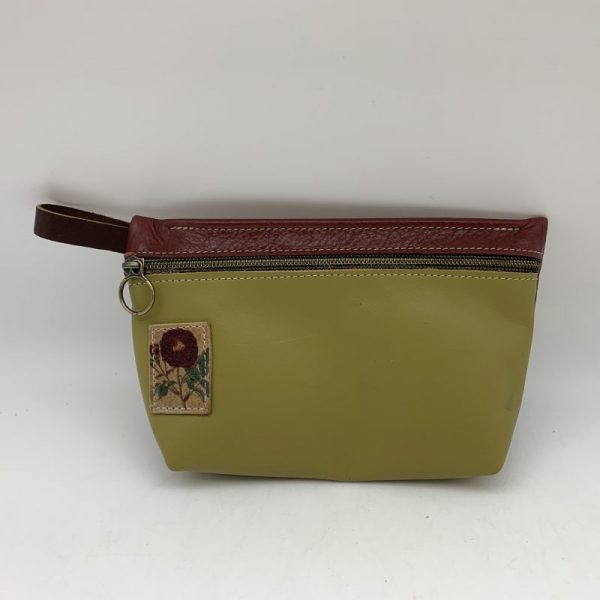 Everyday Stash Bag by Traci Jo Designs - Light Green/Flower